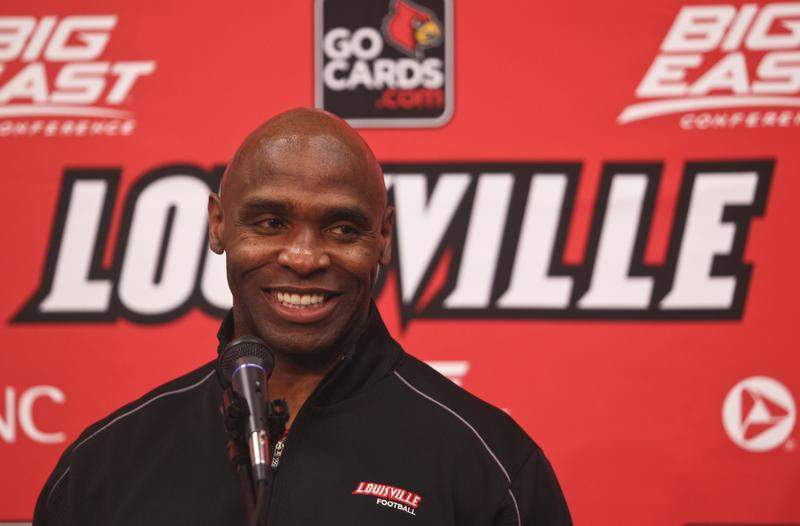 Charlie Strong Photo by Chris Hatfield