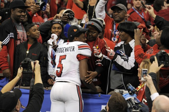 Teddy Bridgewater 2013 Sugar Bowl Louisville vs. Florida