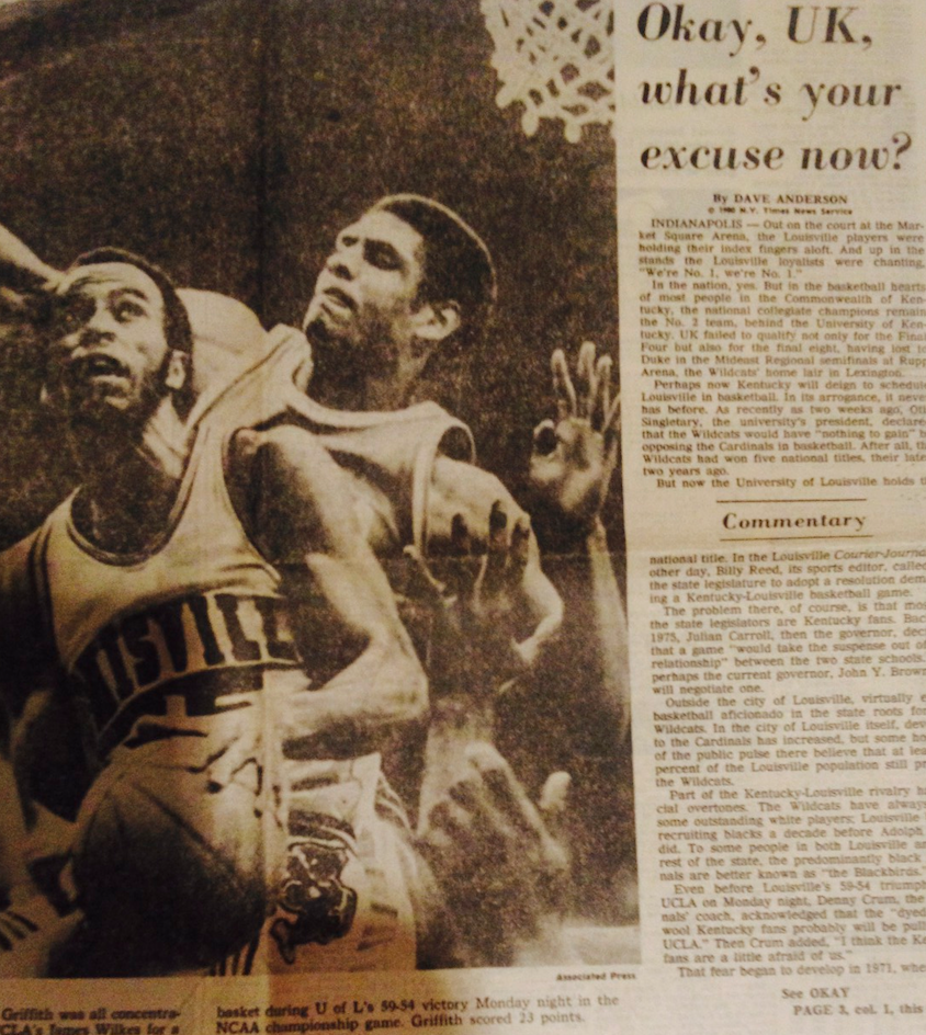 1980 Champ Newspaper