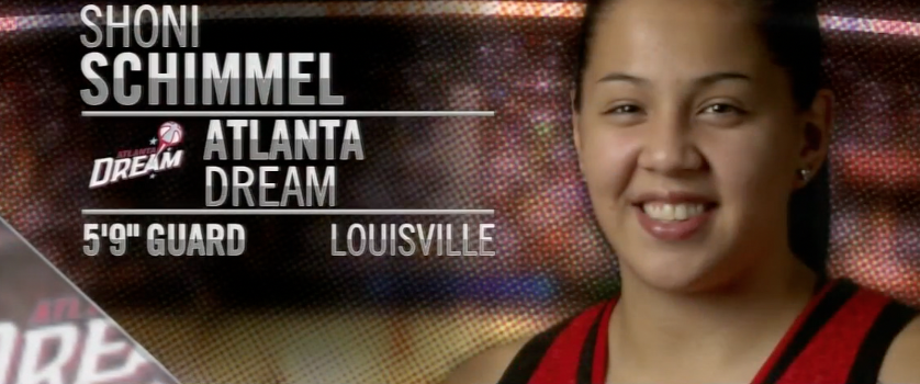 Video: Shoni Schimmel Drafted #8
