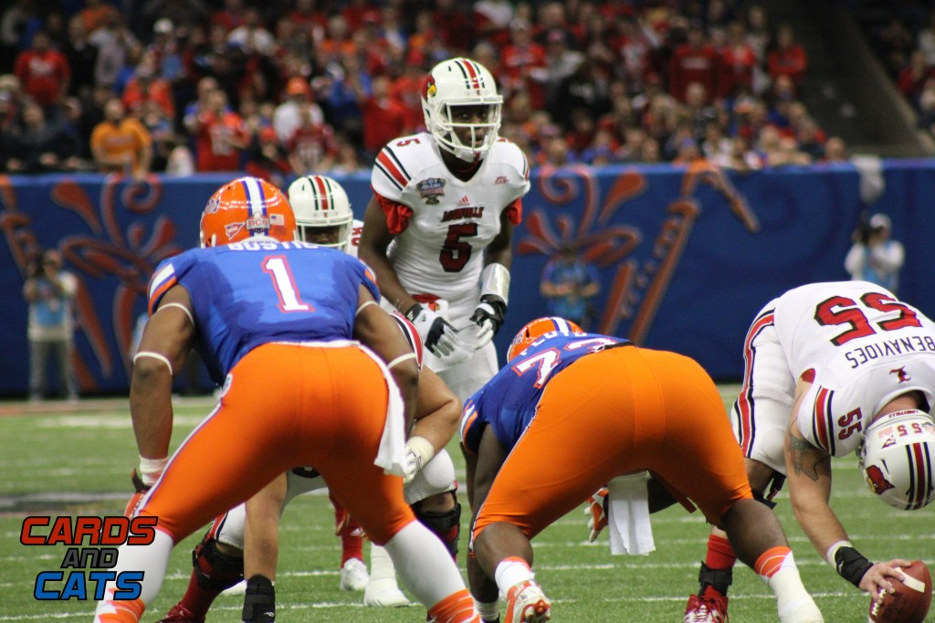 Teddy Bridgewater & Mario Benavides 2013 Sugar Bowl Louisville vs. Florida