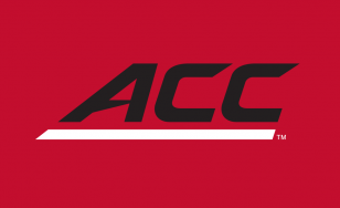 ACC Logo Red Background Fitted