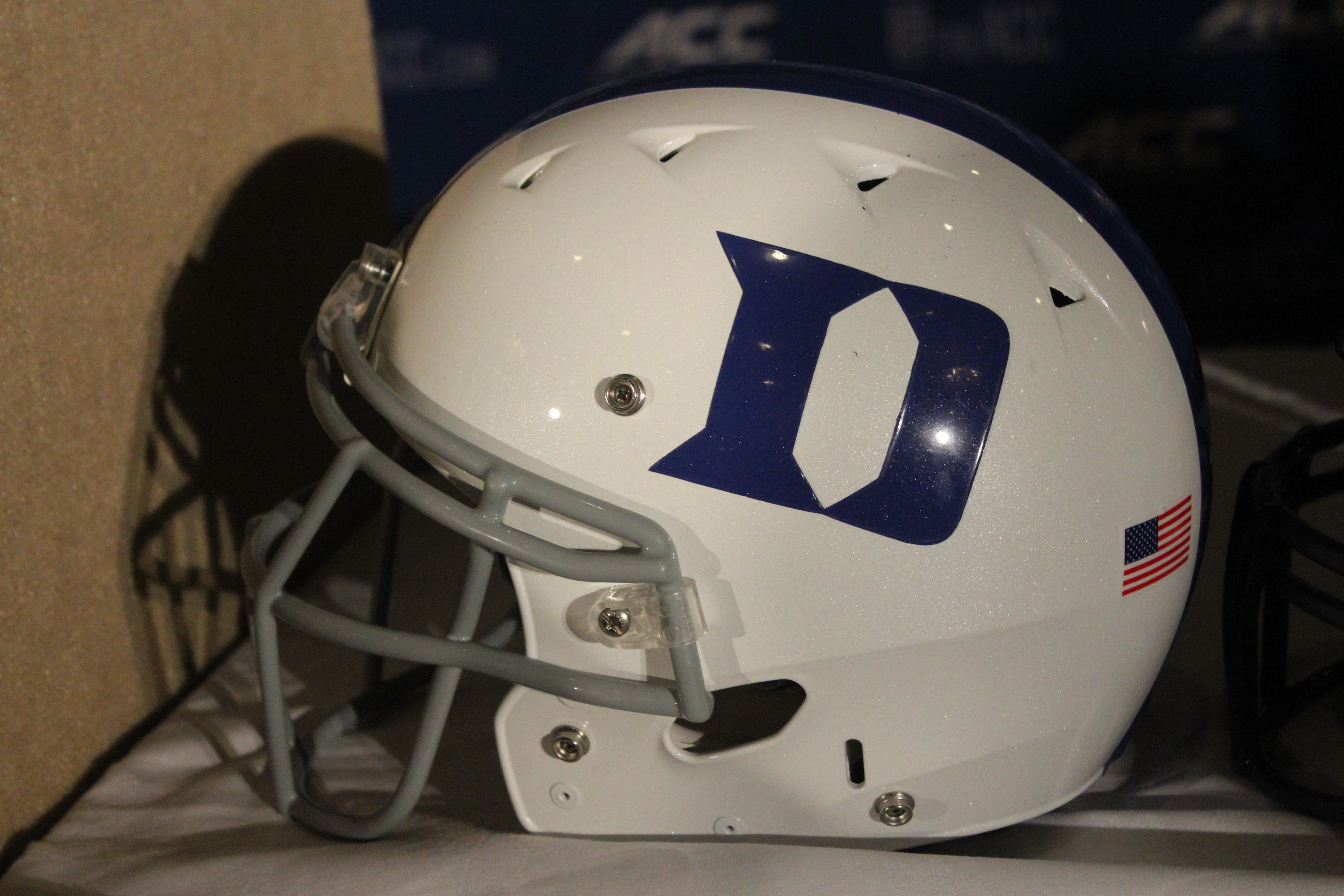 Duke Helmet 2014 ACC Kickoff Photo By Mark Blankenbaker