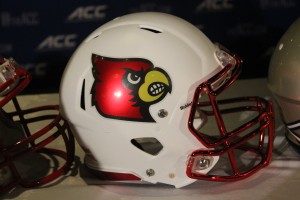 2014 Louisville Football Helmet