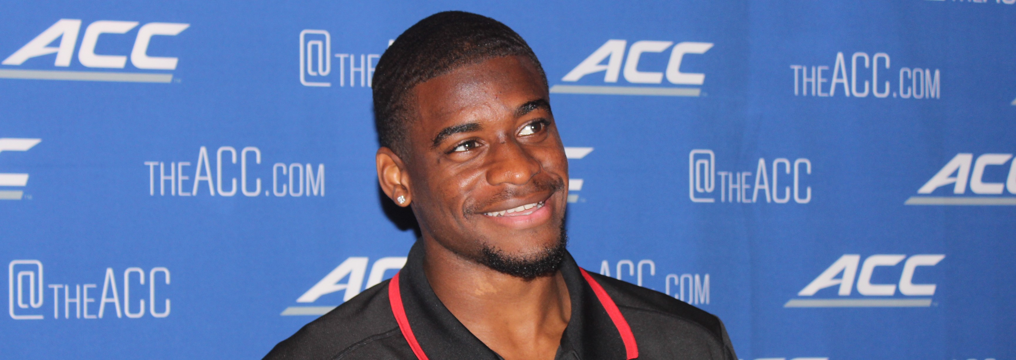 DeVante Parker 2014 ACC Media Kickoff Photo by Mark Blankenbaker Fitted