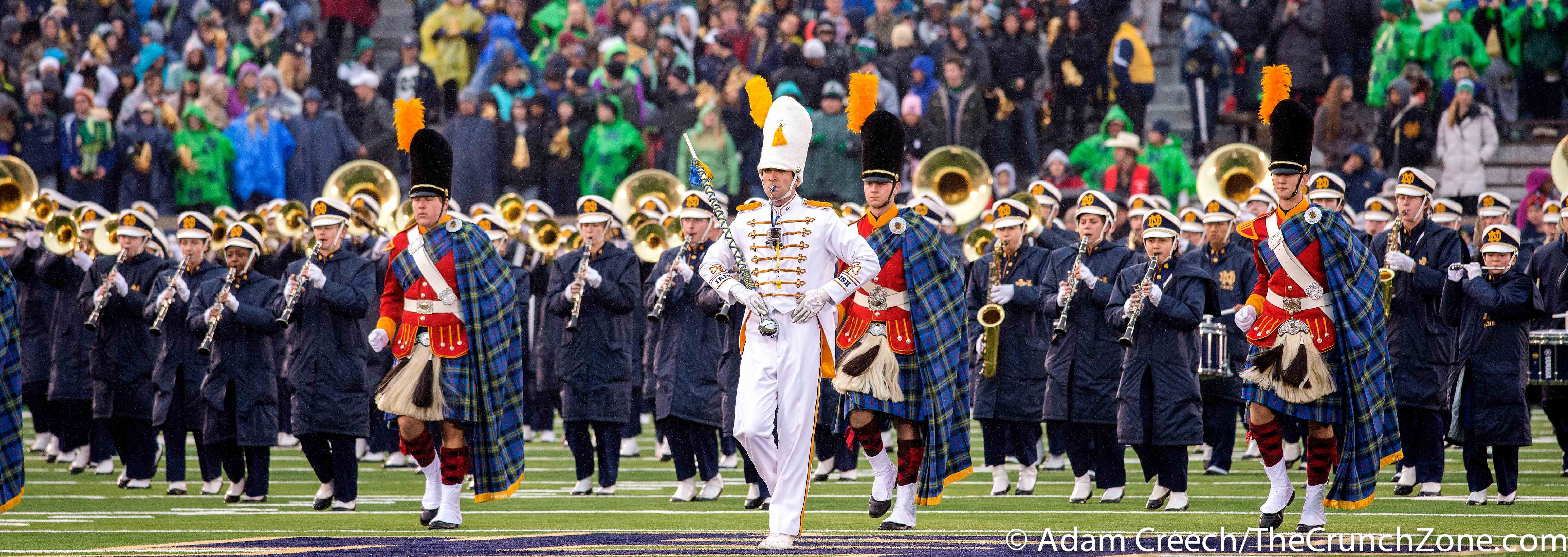 Marching Band Louisville vs. Notre Dame Photo by Adam Creech 11-22-2014 Fitted
