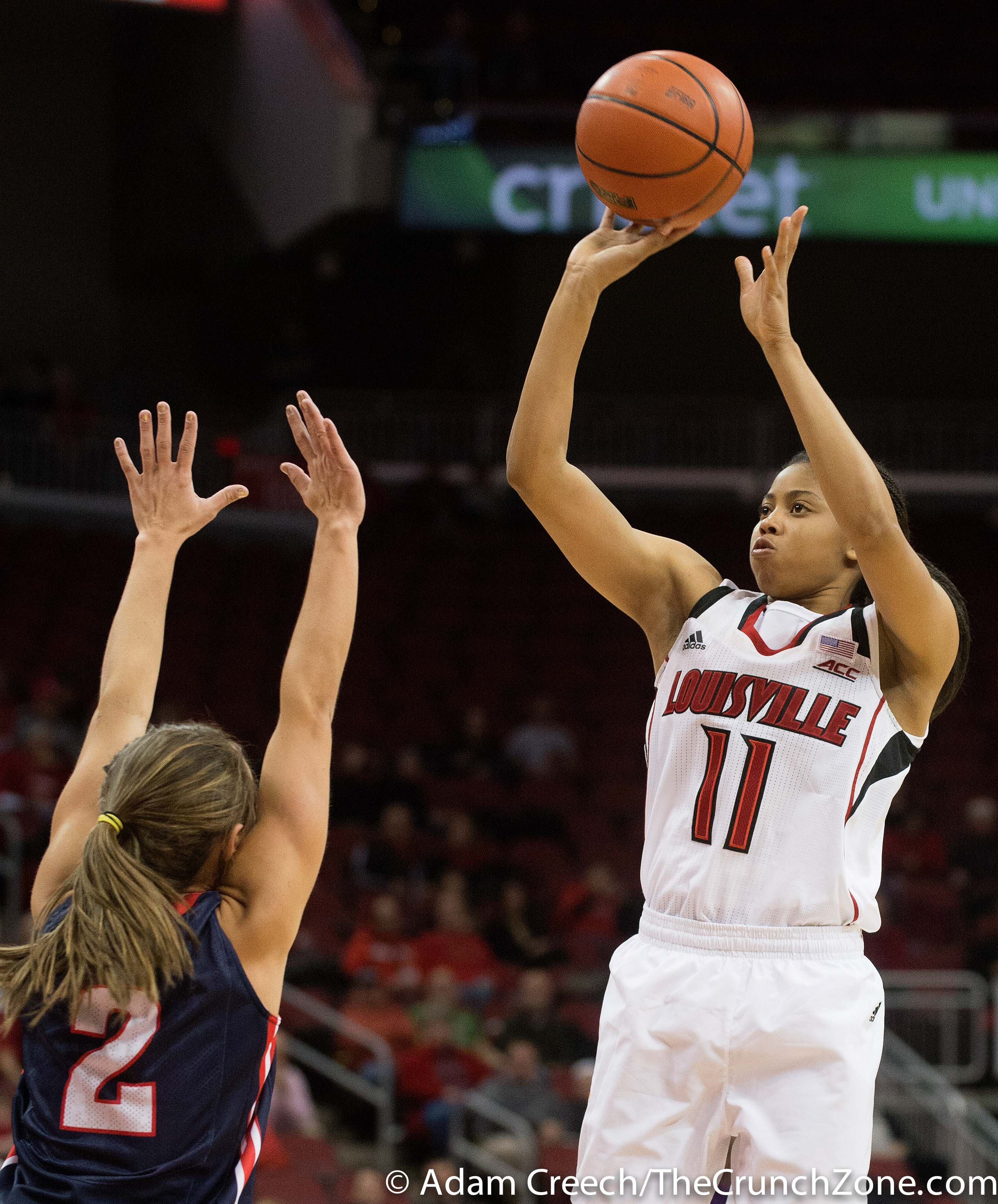 Arica Carter Louisville vs. Belmont Photo By Adam Creech