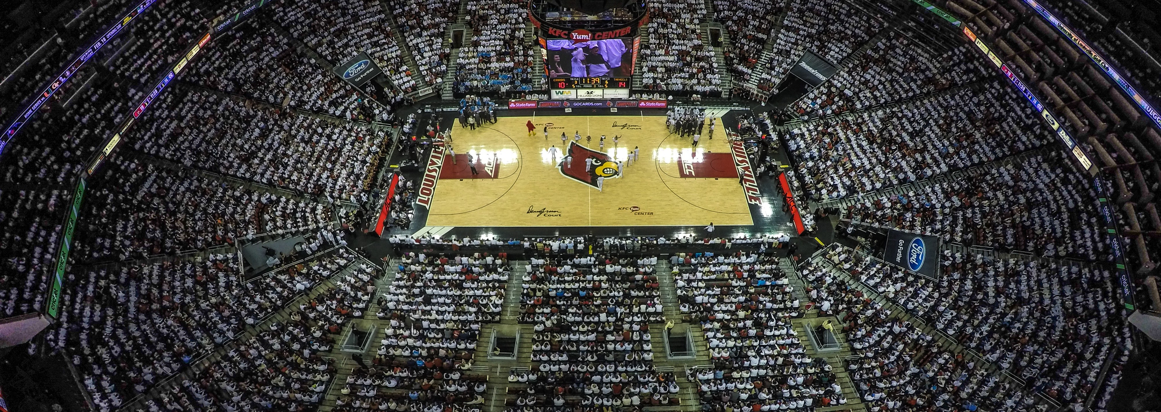 WHITEOUT Louisville vs. North Carolina 1-31-2015 Photo by Seth Bloom Fitted