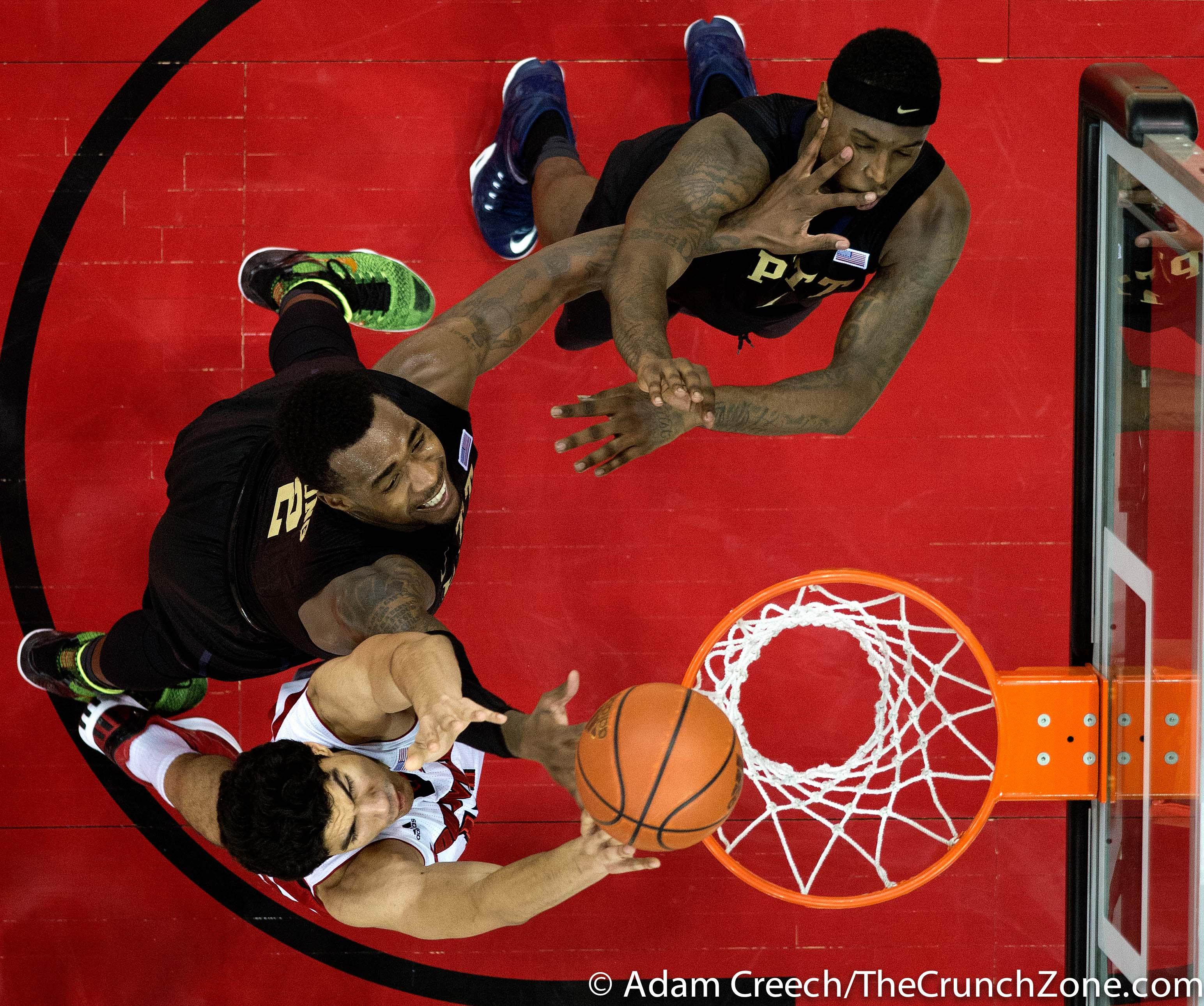 Anas Mahmoud Louisville vs. Pittsburgh 2-11-2015 Photo by Adam Creech