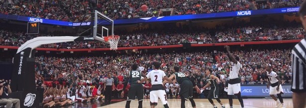 Mangok Mathiang Free Throw Michigan State Fitted