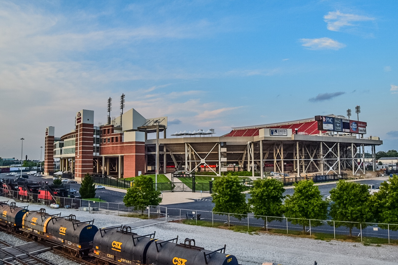 Papa John's Cardinal Stadium Photo by Seth Bloom. 2015