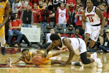 Darius Perry Louisville vs. Southern 11-13-2018 Photo by William Caudill, TheCrunchZone.com