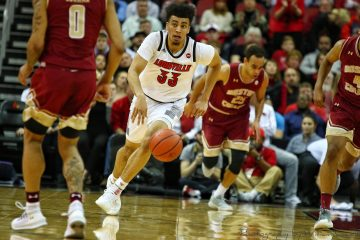 Jordan Nwora Louisville vs. Boston College 1-16-2019 Photo by William Caudill TheCrunchZone.com