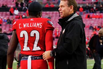 Chucky Williams Louisville (Football) vs. Syracuse 11-18-2017 Photo by Cindy Rice Shelton TheCrunchZone.com