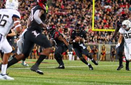 Jawon Pass Louisville vs. Georgia Tech 10-5-2018 Photo by William Caudill, TheCrunchZone.com