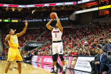 Christen Cunningham Louisville vs. Southern 11-13-2018 Photo by William Caudill, TheCrunchZone.com