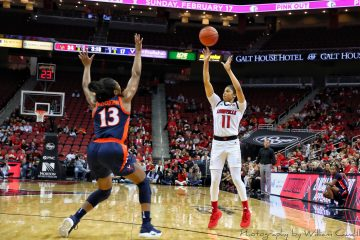 Arica Carter Louisville vs. Virginia 1-17-2019 Photo by William Caudill TheCrunchZone.com