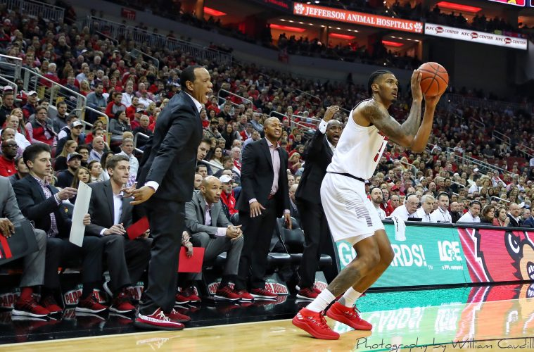 Malik Williams Louisville vs. NC State Post-Game 1-24-2019 Photo by William Caudill, TheCrunchZone.com