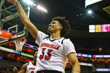 Jordan Nwora Louisville vs. Southern 11-13-2018 Photo by William Caudill, TheCrunchZone.com