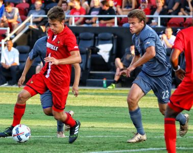Louisville Soccer vs. UC Irvinie Photo by William Caudill 8-25-2017, TheCrunchZone.com