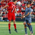 Tate Schmitt Louisville Soccer vs. UC Irvinie Photo by William Caudill 8-25-2017, TheCrunchZone.com