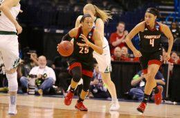 Asia Durr Louisville vs. Baylor NCAA Sweet 16 3-24-2017, Oklahoma City, OK Photo by William Caudill