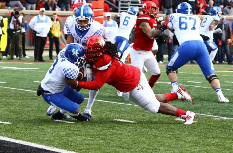 DeAsian Richardson Louisville vs. Kentucky 11-26-2016 Photo by William Caudill TheCrunchZone.com