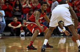 "Quentin Snider ""Senior Night"" Louisville vs. Georgia Tech 3-1-2016 Photo by William Caudill"