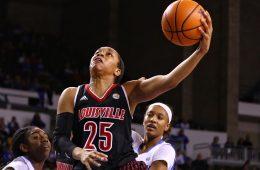 Asia Durr Louisville vs. Kentucky 12-17-2017 Photo by William Caudill TheCrunchZone.com