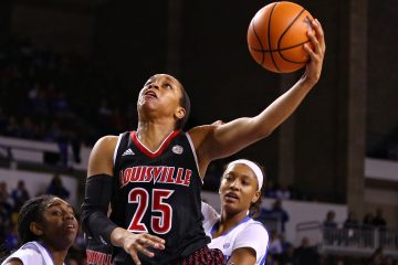 Asia Durr Louisville vs. Kentucky 12-17-2017 Photo by William Caudill TheCrunchZone.com