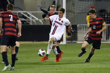 Romillio Hernandez Louisville vs. Stanford (NCAA Soccer) 12-3-2016 Photo by William Caudill TheCrunchZone.com