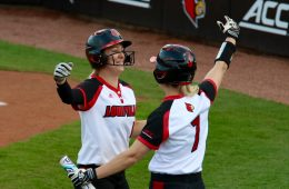 Louisville vs. Indiana 3-29-2017 Softball Photo by William Caudill, TheCrunchZone.com