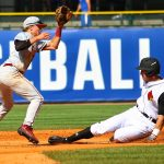 Slide Louisville Baseball vs. Florida State ACC Tournament 5-26-2017 Photo by William Caudill at Louisville Slugger Field TheCrunchZone.com