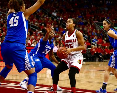 Asia Durr Louisville vs. Kentucky 12-4-2016 Photo by William Caudill TheCrunchZone.com