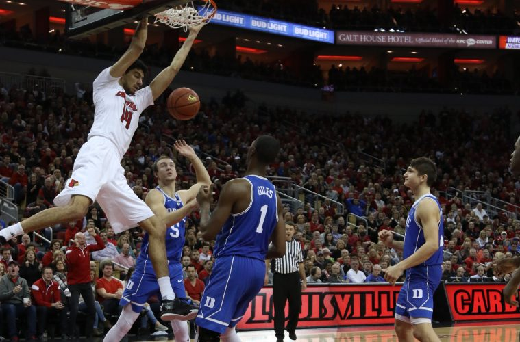 Anas Mahmoud Louisville vs. Duke 1-14-2017 Photo By William Caudill TheCrunchZone.com