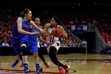 Arica Carter Louisville vs. DePaul 3-20-2016 Photo by William Caudill