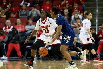 Jazmine Jones Louisville vs. Georgia Tech 1-18-2017 Photo By William Caudill TheCrunchZone.com