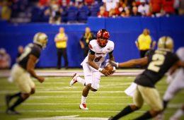 Lamar Jackson Louisville vs. Purdue 9-2-2017 Photo by William Caudill, TheCrunchZone.com