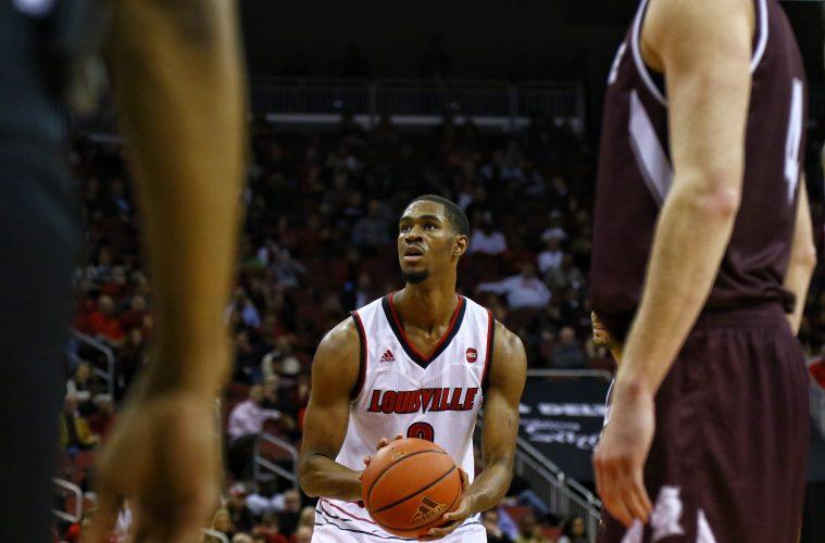 VJ King, Louisville Basketball vs. Bellarmine by William Caudill, 11-7-2017, TheCrunchZone.com