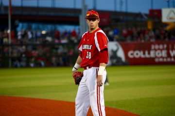 Brendan McKay Louisville Baseball vs. Kentucky 4-4-2017 Photo by William Caudill TheCrunchZone.com