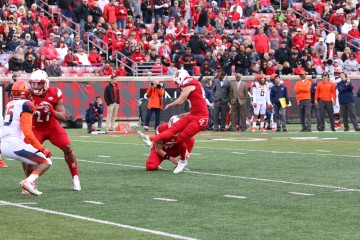 John Wallace breaks Art Carmody Field Goal Record at UofL Louisville vs. Syracuse 11-7-2015 Photo by William Caudill