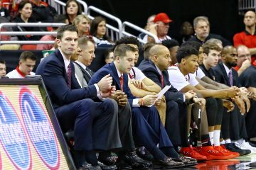 David Padgett Louisville (MBB) vs. Nebraska-Omaha 11-17-2017 Photo by William Caudill TheCrunchZone.com
