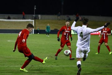 Louisville Men's Soccer vs. San Francisco NCAA 11-19-2017 Photo by William Caudill TheCrunchZone.com