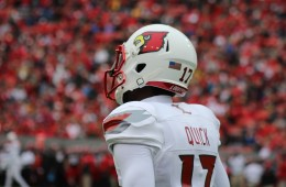 James Quick Louisville vs. NC State 10-3- 2015 Photo by Mark Blankenbaker