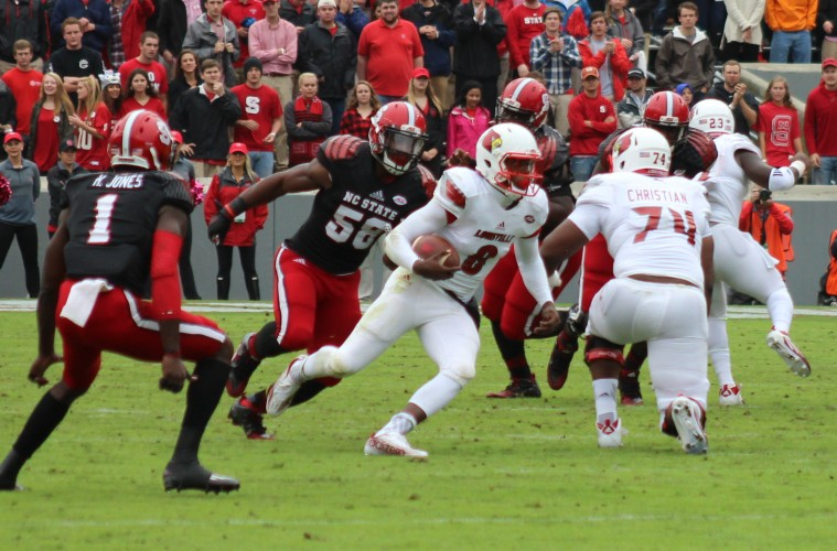 No. 17 Louisville at No. 24 NC State