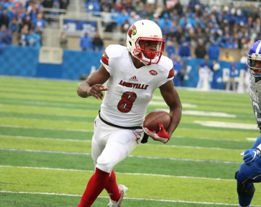 Lamar Jackson Louisville vs. Kentucky 2015 Governor's Cup 11-28-2015 Photo by William Caudill