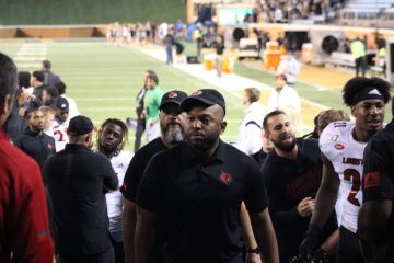Bryan Brown Louisville vs. Wake Forest 10-12-2019 TheCrunchZone.com, Photo by Drew Poynter