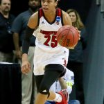Asia Durr Women's Basketball Louisville vs. Chattanooga NCAA 1st Round 3-18-2017 Photo by William Caudill
