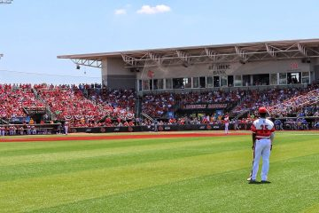 Jim Patterson Stadium Louisville Baseball vs. Kentucky NCAA Super Regional 6-9-2017 Photo by William Caudill TheCrunchZone.com