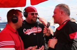 Mark Blankenbaker, Dave Scull, Todd Sharp Louisville vs. Purdue 9-2-2017 Photo by William Caudill, TheCrunchZone.com